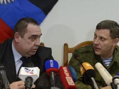 """Как главари """"ДНР"""" и """"ЛНР"""" отреагировали на идею развертывания на Донбассе вооруженной полицейской миссии ОБСЕ"""