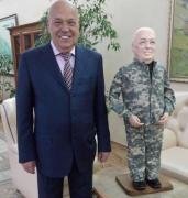 Губернатор Москаль: встреча с клоном (ВИДЕО)