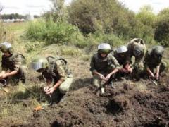 Российские саперы прибыли в Донецк для минирования подступов к городу