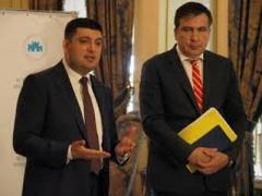 "Саакашвили предложил Гройсману ""прижучить"" Ахметова (ВИДЕО)"