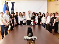 """""""Равнение на украинское"""", - Аброськин выложил фото главка полиции Донетчины в вышиванках"""