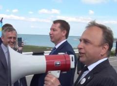 Губернатор Херсонщины исполнил хит для Путина  (ВИДЕО 18+)