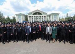 Среди новых патрульных Луганщины - 5 переселенцев
