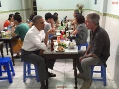 """Обама перед саммитом """"Большой семерки"""" ужинал во вьетнамском ресторане быстрого питания (ФОТО)"""