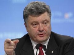 Порошенко призвал Путина вывести войска с оккупированного Донбасса и освободить всех украинских заложников