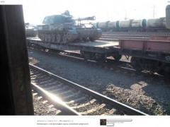Из России в Дебальцево прибыл очередной эшелон с боеприпасами и бронетехникой