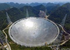 Китай продемонстрировал самый большой в мире радиотелескоп