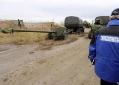 РФ согласна вооружить наблюдателей ОБСЕ в зоне АТО