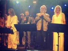 Знаменитая шведская четверка впервые выступила на сцене после 30-летнего перерыва (ФОТО)