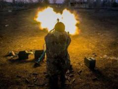 Боевики из артустановок расстреляли жилой сектор Торецка