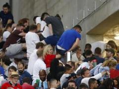 УЕФА откроет дисциплинарное дело против россиян из-за беспорядков после вчерашнего матча