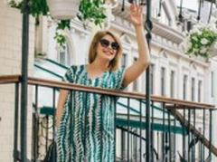 Елена Кравец из «95 квартала» создает одежду для беременных