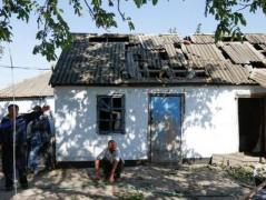 Боевики обстреляли Коминтерново, разрушены жилые дома