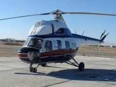 Под Харьковом упал вертолет, есть пострадавшие