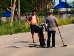 Нанотехнологии: ремонт дорог по-русски (ВИДЕО)