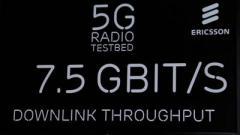 Ericsson установила рекорд скорости 5G-связи в движущемся автомобиле (ВИДЕО)