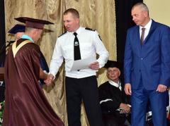 Главный полицейский Донетчины принял участие в приятной церемонии
