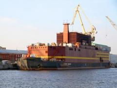 В России начались испытания первой в мире плавучей АЭС