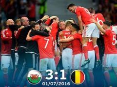 Евро-2016: Уэльс уничтожил фаворита