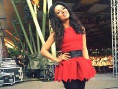 Украинская певица покорила Юрмалу своей  песней (ВИДЕО)