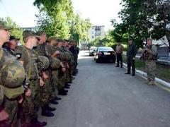 В Торецке полиция проводит спецоперацию (ФОТО)