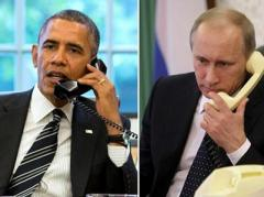 """Обама призвал Путина к полному выполнению """"Минска-2"""", Путин требует """"особый статус"""" Донбассу"""