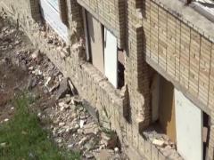 Боевики обстреляли школу в Красногоровке и жилой дом в Марьинке