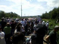 Донбасские блокпосты: адские жара и очереди