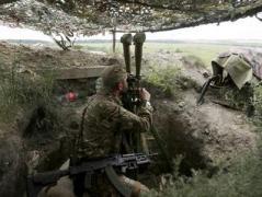 14 июля боевики 64 раза обстреляли позиции сил АТО, в том числе с применением артиллерии