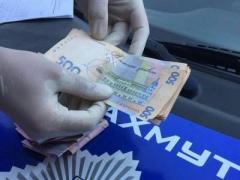 В Донецкой области на взятке попался командир патрульной полиции (ВИДЕО)