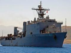 В Черное море вошел десантный корабль ВМС США