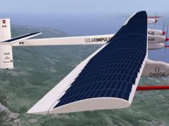 Самолет на солнечных батареях впервые  облетел вокруг света