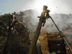 Боевики из запрещенного оружия обстреляли силы АТО в Авдеевке и Красногоровке