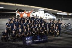 Самолет Solar Impulse 2 завершил кругосветное путешествие (ВИДЕО)
