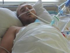 После двух клинических смертей и 50 операций Герой АТО снова встал в строй (ВИДЕО)