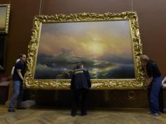 Скандал: в Третьяковской галерее устроили выставку  вывезенных из Крыма картин Айвазовского (ВИДЕО)