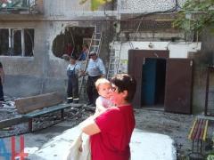 Опубликованы фото разрушенных ночью домов в Ясиноватой