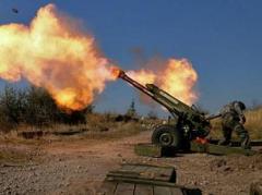 Боевики 28 раз обстреляли позиции сил АТО, в том числе из тяжелой артиллерии