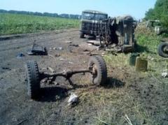 """""""Орки"""" ехали на ротацию - недалеко от Мариуполя расстреляли КамАЗ с боевиками"""