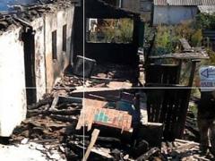 В Зайцево 120-мм мина боевиков разрушила жилой дом