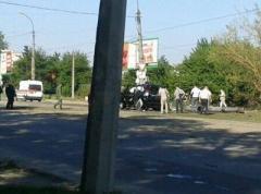 """Столб умер, Плотницкий жив: видео с места покушения на главаря """"ЛНР"""" (ВИДЕО)"""