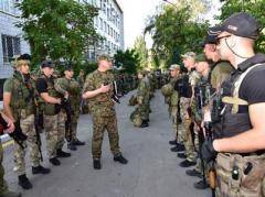 Маріупольські поліцейські пройшли перевірку на боєготовність (ФОТО)