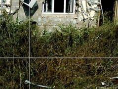 В Красногоровке из-за обстрелов боевиков повреждены жилые дома (ФОТО)