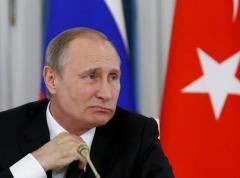 """Фото дня: взгляд Путина в """"светлое будущее России"""""""