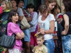 Минсоцполитики Украины зарегистрировало 1,72 млн вынужденных переселенцев