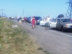 Донбасские пункты пропуска штурмуют всё активнее