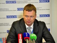 Замглавы миссии ОБСЕ  провел в Донецке переговоры с Захарченко