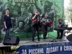 """Это знак: на словах """"Украина и Россия - друг без друга нам нельзя!"""" рухнула сцена (ВИДЕО)"""