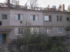 """Фото из Красногоровки: снаряды """"прилетели"""" в жилой дом"""