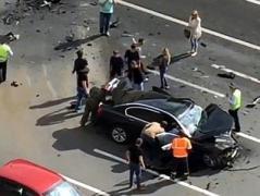 Автомобиль Путина попал в смертельное ДТП в Москве, есть жертвы (ВИДЕО)
